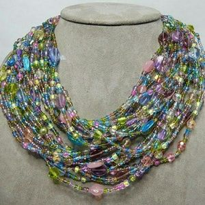 Joan Rivers Collection Spring Pastels Necklace